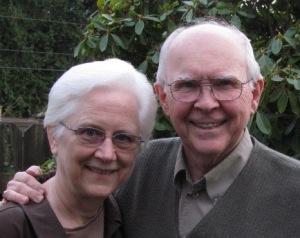 Ron and Linda Sauke, December 2012